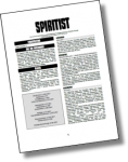 Tür #21: Heldenklasse Spiritist