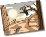 Türchen #23: Verfolgungsjagdkarten Wüste